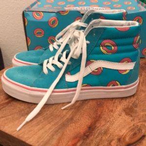 34d82afbb3c3 Vans Shoes - Women s Vans size 8 ODD FUTURE donut sk8-hi
